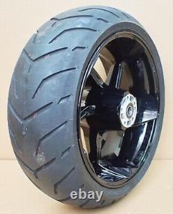 Harley original Rad hinten18x8 Pro Street CVO rear Wheel Softail Breakout