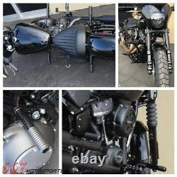 Highway Foot Pegs Crash Bar For Harley Softail Slim FLSL Street Bob FXBB 2018-20