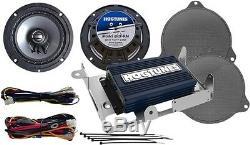 Hogtunes 6.5 225 Watt Speaker & Amp Kit 2014-2019 Harley Street Glide Flhx