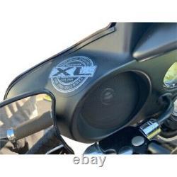 Hogtunes XL Front Speaker Kit for Harley 98-13 Electra & Street Glide
