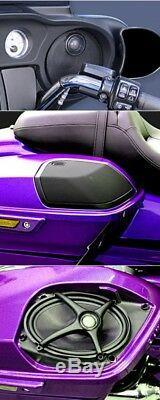 J&M Audio XXRK Extreme 4 Speaker & 700w Amp Kit 2014 & Up Harley Street Glide