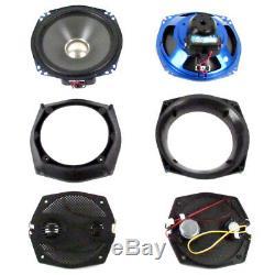 J&M Rokker XXR 7.25 Ft Speakers 1998-2013 Harley-Davidson Electra Street Glide
