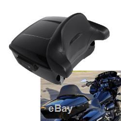 King Tour Pak Pack Trunk Backrest Pad For Harley Touring Street Glide 2014-2020