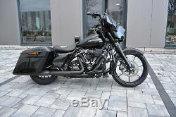 Koffer Harley Davidson Electra Ultra Street Glide Road KING 2014-18 stretched