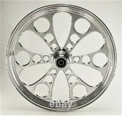 Kool Kat Front Billet Wheel 21 X 3.5 Harley Flhx Flhxi Street Glide 2006-2007