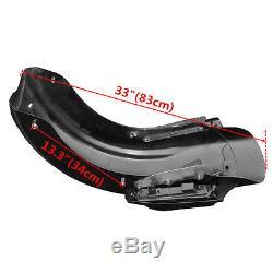 LED CVO Rear Fender System For Harley Touring Road Street Glide FLHR FLHX FLTR