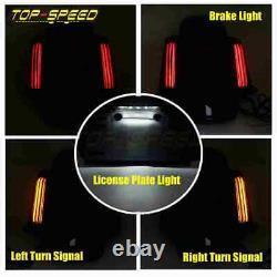 LED Rear Fender Fascia Light For Harley Touring Road King FLHR Street Glide FLHX