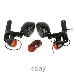 LED Zusatzscheinwerfer Set für Harley-Davidson Street Glide 06-13 bs