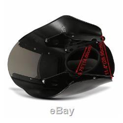 Lampenmaske Q1 für Harley Dyna Street Bob/ Low Rider/ S dunkel