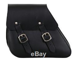 Leder Satteltasche HD Dyna Solositz Street Bob Packtasche Buffalo Bag -2017