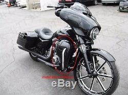 Lower Vented Leg Fairing Glove Box For Harley Touring Street Glide Ultra 2014-17