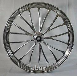 Manhattan Billet 26 Big Wheel 2008-2013 Harley Street Glide Flhx Flhxse Cvo