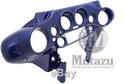 Mutazu Cobalt Blue Front Inner Cowl Fairing for Harley Electra Street Glide FLH