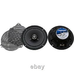NEW Hogtunes 6.5 Speaker Pair for Front of Harley STREET GLIDE ELECTRA