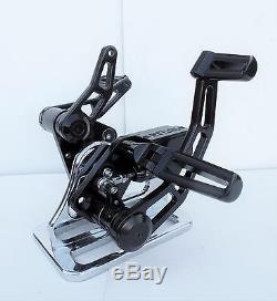 Outlaw Dyna Forward Controls Black Anodized Harley Street Bob Fxdb/l/wg/f
