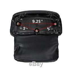 Razor Tour Pak Pack Trunk +Pad with Two-Up Rack For Harley Road Street Glide 14-19
