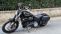 Saddlebag For Harley Davidson New 2018 Softail Street Bob And Slim Endscuoi0