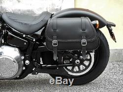 Saddlebag For Harley Davidson Softail 2018-2020 Street Bob And Slim Endscuoio