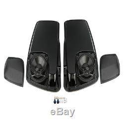 Saddlebag Lids 5X7 Speakers For Harley CVO Electra Street Glide FLHX 2014-2019