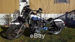 Satteltasche für Harley Davidson DYNA STREET BOB FAT BOB ITALIAN QUALITY