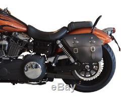Satteltasche links 12L Harley Davidson Fat Bob Street Bob -2017 Buffalo Bag