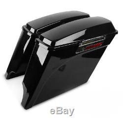 Seitenkoffer Stretched für Harley Davidson Electra/Road/King/Street Glide/ 94-13