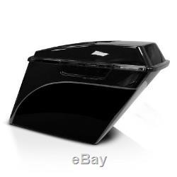 Seitenkoffer Stretched für Harley Street Glide 06-13 lackiert, o. Verschluss