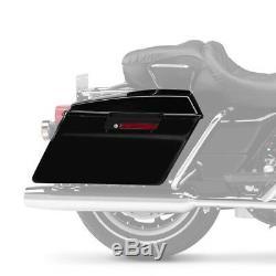 Seitenkoffer für Harley Davidson Electra/Road/King/Street Glide/ 2014- Black