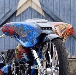 Stealth Street Glide Fairing for 6.5 speakers Harley Davidson Bagger Raked 30