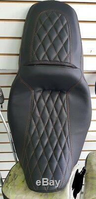 Street Glide HARLEY Touring Seat P52320-11, Stitching 2008-2018 COVER ONLY
