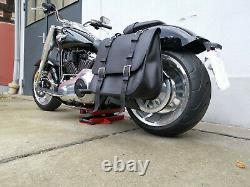 THE BIG Satteltasche für Harley Davidson Modelle ab 2018 Softail Fat Bob Street