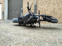 TINWORKS Harley Davidson XG500/XG750 Street crashbar + indicator mounts chopper
