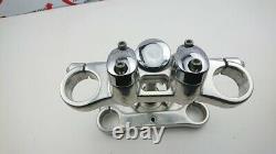 Triple steering clamps Harley Davidson Dyna street bob 49mm 45867-08