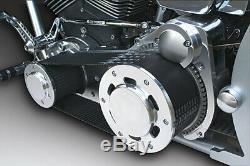 Ultima 3.35 Polished Street Style Belt Drive for Harley Softail Models'90-'06