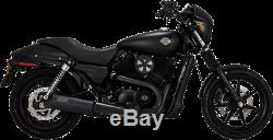 Vance & Hines Matte Black Hi Output Exhaust Muffler for 15-19 Harley XG Street
