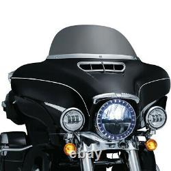 Vivid Black Outer Fairing For Harley Touring Street Glide Electra Glide 14-20
