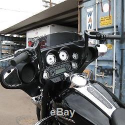 Yaffe Black 12 Monkey Handlebar Package 08-13 Harley Street Electra Glide ABS